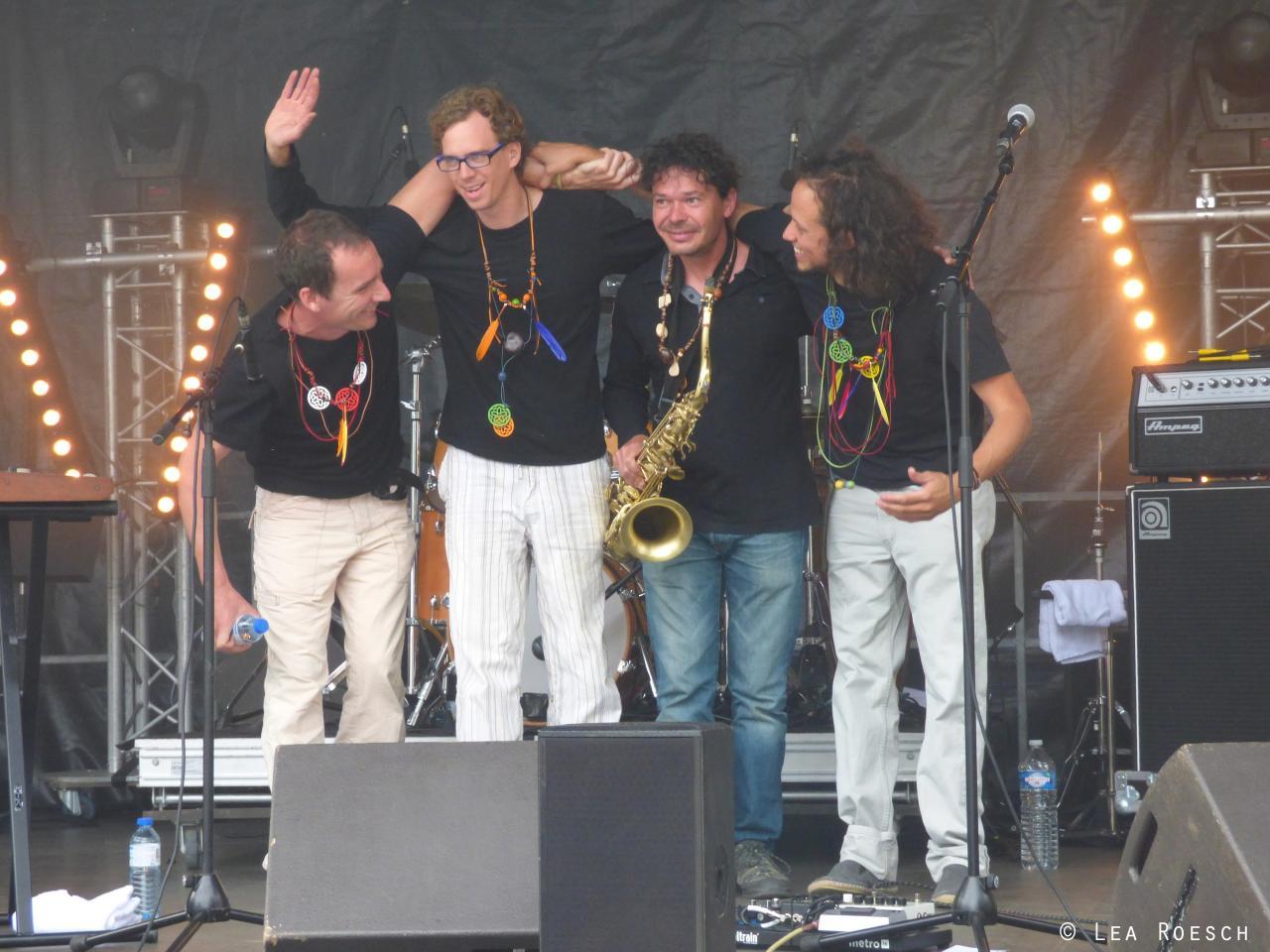 Fin de concert jazz en Baie
